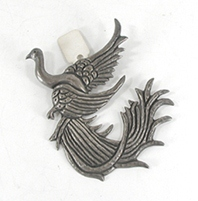 Vintage Mexican sterling silver Bird pin