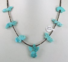 Navajo Animal fetish Necklace