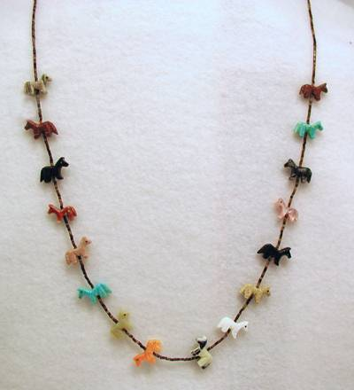 Indian fetish jewelry