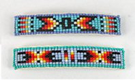 Vintage beaded barrettes New Old Stock