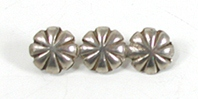 Vintage sterlling silver conchos Pin