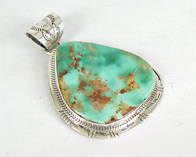 silver bezel grande sherry pendant stone turquoise blue organic products sterling vine collections tinsman green large il fullxfull form pendants metalsmith