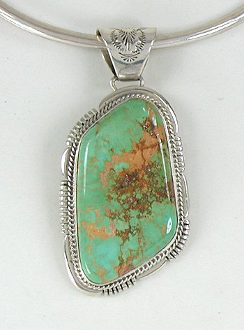 for g green page category handmade necklace hanger sterling bumping silver ebay turquoise colors pendant vintage