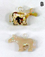 Authentic Native American Horse Pendant by Zuni Carol Martinez