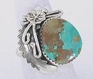 Authentic Navajo Sterling Silver ring size 6 1/4 by Peterson Johnson