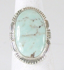 Sterling Silver Royston Turquoise ring size 8 1/2