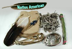 Native American Indian Smudge Kit