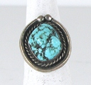 vintage sterling silver turquoise ring size 6 1/2